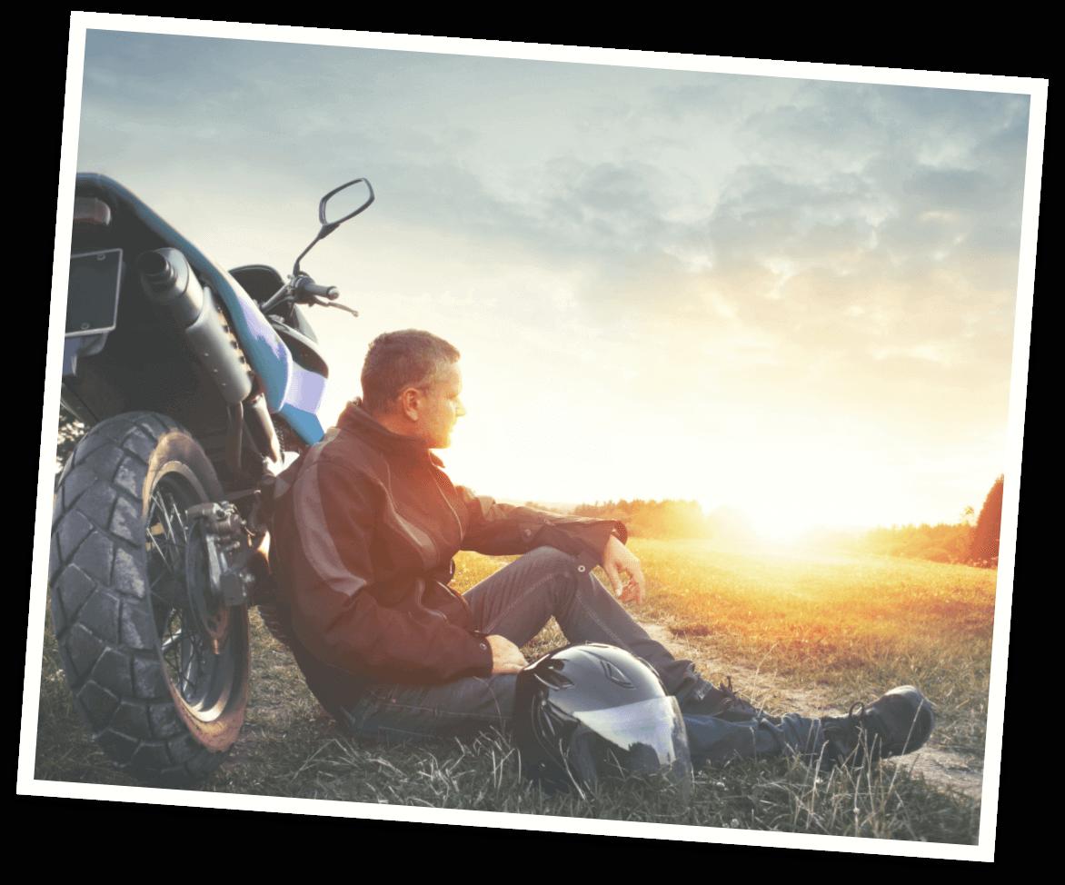 Motorradfahrer - Kulmbacher Edelherb Alkoholfrei