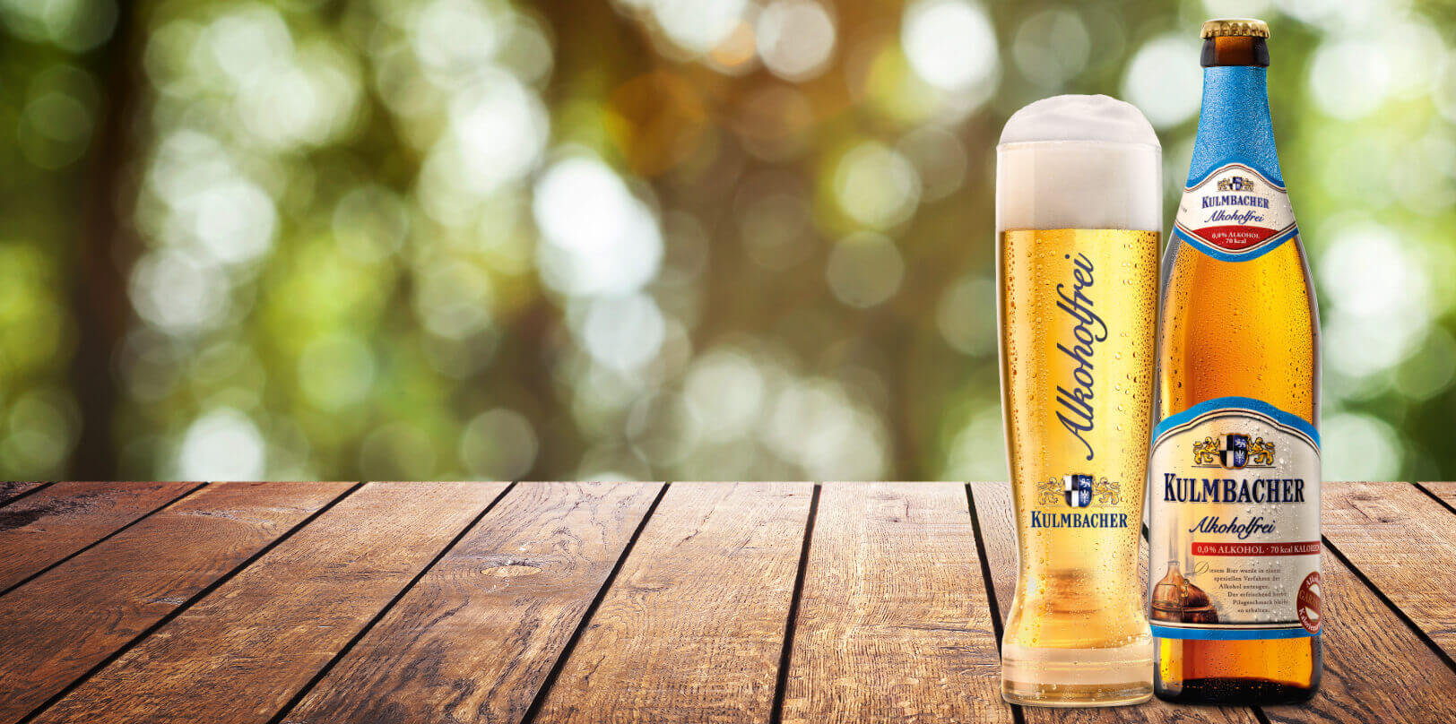 Kulmbacher Alkoholfrei - Passt immer!