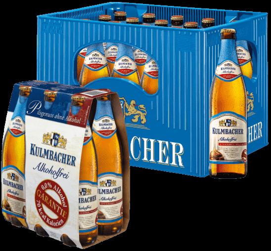 Kulmbacher Alkoholfrei - Kasten und Sechser