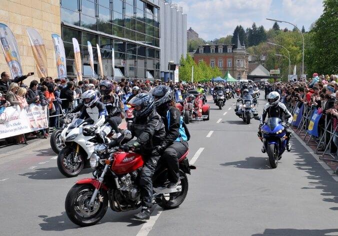 Motorradsternfahrt - Kulmbacher Edelherb