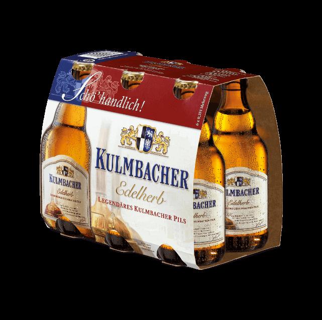 Kulmbacher Edelherb Sechser Steinie